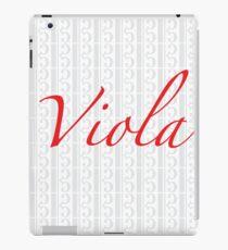 The Red Viola iPad Case/Skin