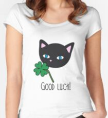 Good luck ! Women's Fitted Scoop T-Shirt