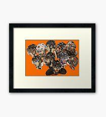 Flyers II Framed Print