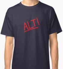 3908bdc614a6 Alt! - rock music parody t-shirts etc. Classic T-Shirt