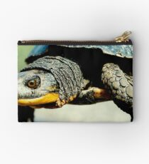 Mr turtle..how many licks does it take to get to the center of a toosie pop? Studio Pouch