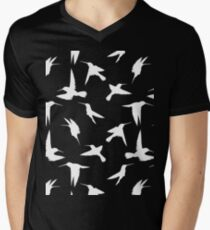 Bird - White Mens V-Neck T-Shirt