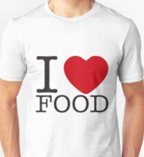I love food Unisex T-Shirt