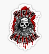 The Necro Butcher shirt Sticker