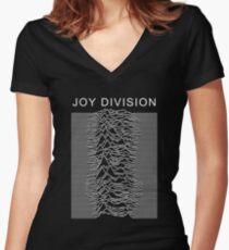 Joy Divison Women's Fitted V-Neck T-Shirt