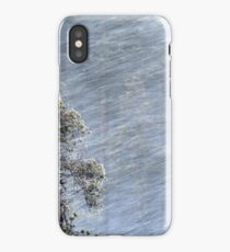 12.1.2017: Pine Tree in Blizzard iPhone Case