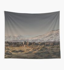Icelandic Horses I Wall Tapestry
