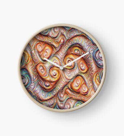 Frozen Abstract Energy #DeepDream #Art Clock