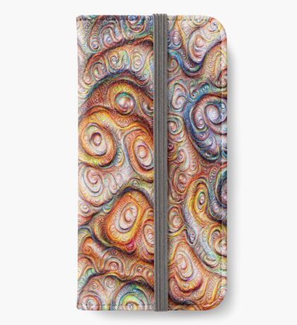 Frozen Abstract Energy #DeepDream #Art iPhone Wallet