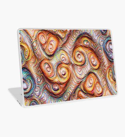 Frozen Abstract Energy #DeepDream #Art Laptop Skin