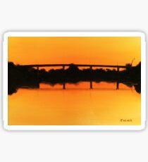 George Chaffey Bridge Sticker