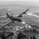 Short Stirling air test B&W version by Gary Eason