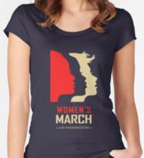 Women's March on Washington Women's Fitted Scoop T-Shirt
