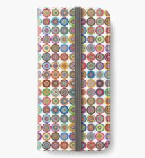 Colourful Circles Pattern iPhone Wallet/Case/Skin