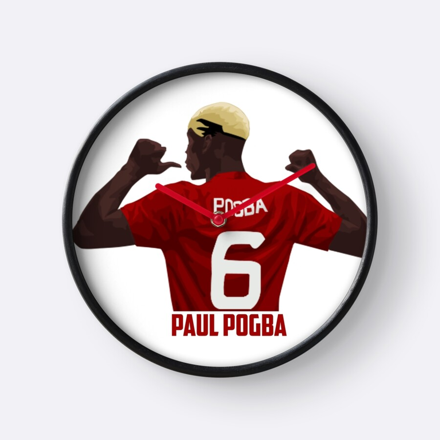 Quot Paul Pogba Manchester United Quot Clocks By Jay Dr Edits
