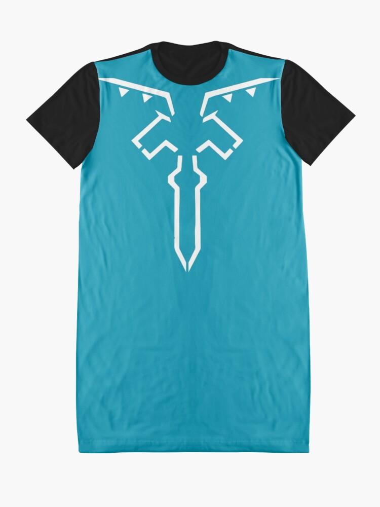 Vista alternativa de Vestido camiseta Leyenda de Zelda: túnica de aliento de salvaje