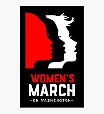 women's march Photographic Print