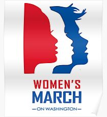 Women March On Washington Poster