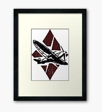 Thunder of War Framed Print