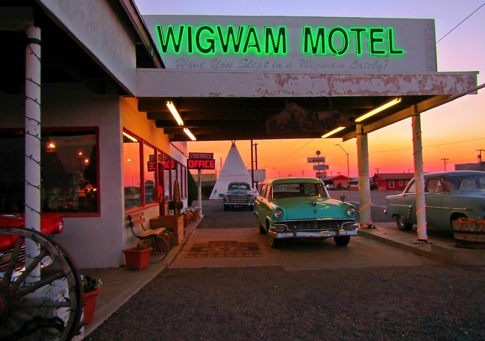 Reto Fifties Motel by Johnhalifax