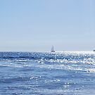 Sailboat on the Sea by babibell