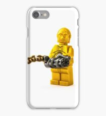 3PO packs some surprising firepower iPhone Case/Skin