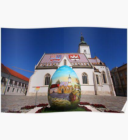 Easter in Zagreb Poster