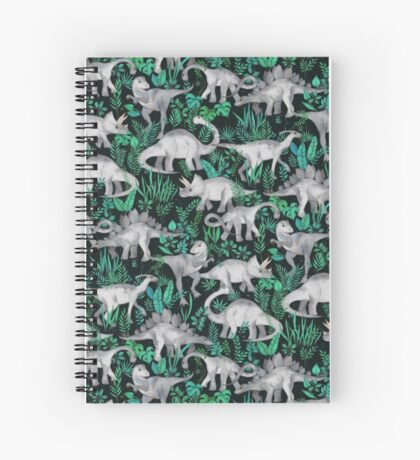 Dinosaur Jungle Spiral Notebook