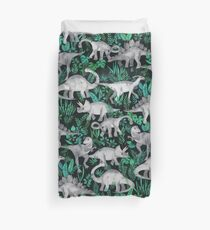 Dinosaur Jungle Duvet Cover