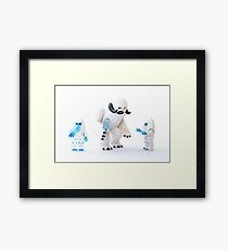 Wampa Family Framed Print