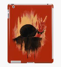 Rock Hard Snail iPad Case/Skin