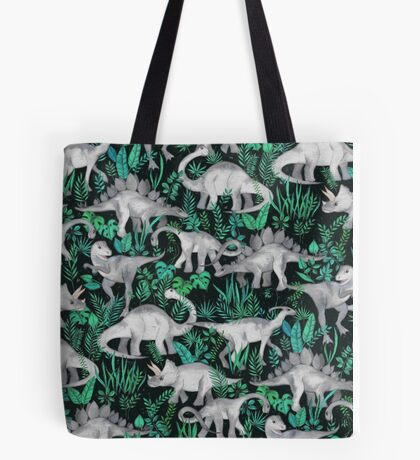 Dinosaur Jungle Tote Bag