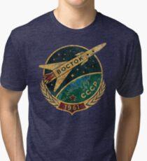 CCCP Boctok 1961 Tri-blend T-Shirt
