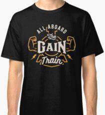 All Aboard The Gain Train Classic T-Shirt