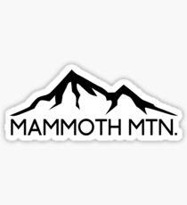 MAMMOTH MOUNTAIN CALIFORNIA SKIING SKI SNOWBOARDING HIKING CLIMBING 14 Sticker