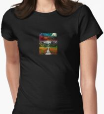 Take a Stroll Womens Fitted T-Shirt