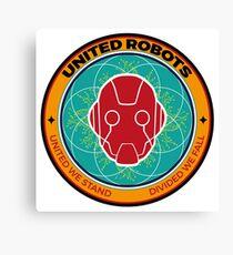 United Robots Canvas Print