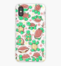 Adorable turtle pattern all over iPhone Case/Skin