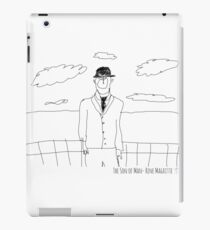 The Son of Man- Rene Magritte iPad Case/Skin
