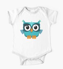 Cute Emerald Owl  Kids Clothes