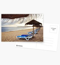 Relax in the beach Postcards