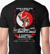 KUNG FU, FILM, POSTER, 5 Element,  Unisex T-Shirt