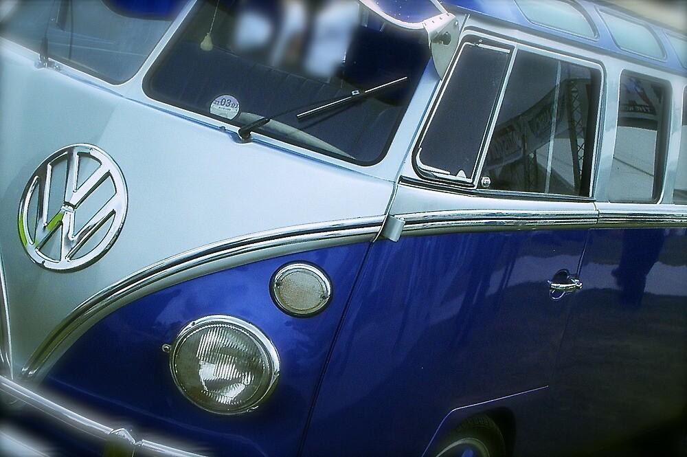 VW Camper Van Split Screen by John Colley