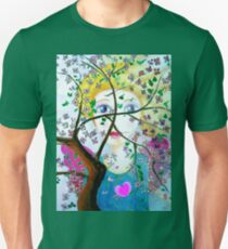 There's an angel behind the blooming tree T-Shirt