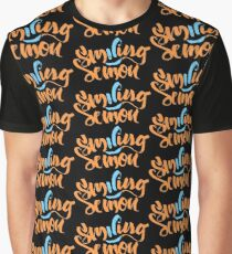Intro Smiling Demon Graphic T-Shirt