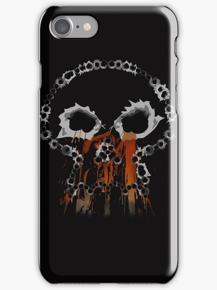 Gunshots Holes Headbone Skull   by CroDesign