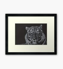 Dare its deadly terrors clasp Framed Print