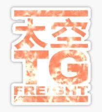 TG Freight Sticker