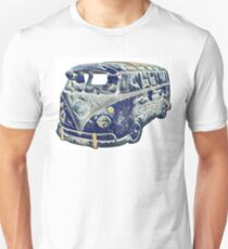 Camper Van Surfing Waves Unisex T-Shirt