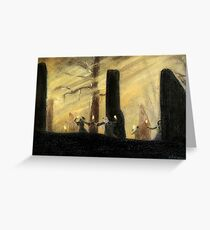 """""""Dance of the Druids"""" Greeting Card"""